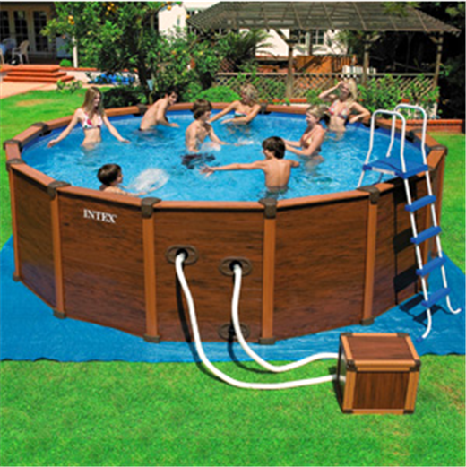 Promo Piscine Mania - 34% de réduction sur le Kit piscine Intex Sequoïa de 5 mètres sur Piscine-mania.com