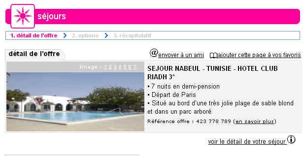 lastminute meilleure vente sejour tunisie hotel club riadh prix promo 306 eur. Black Bedroom Furniture Sets. Home Design Ideas
