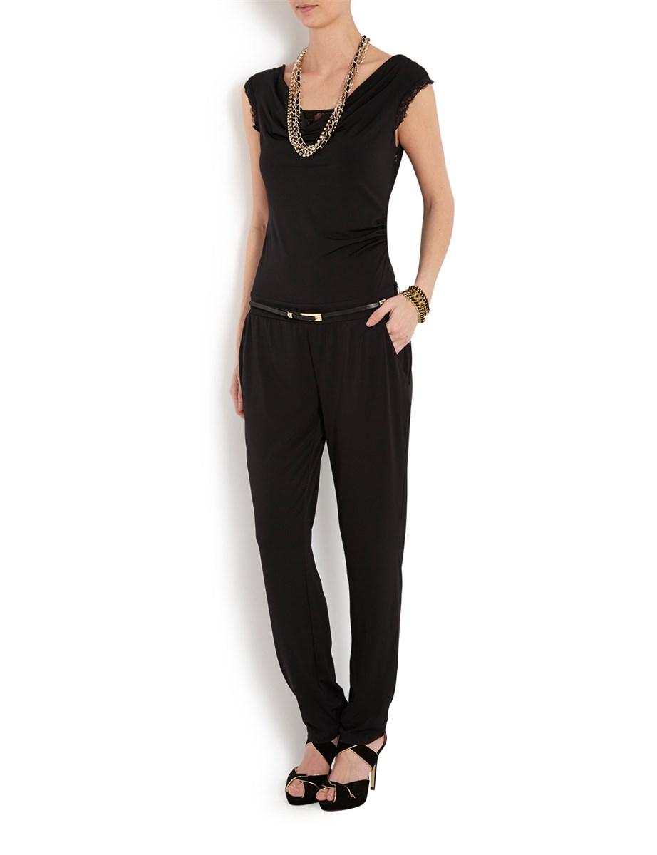 combinaison morgan combinaison pantalon manches dentelle ventes pas. Black Bedroom Furniture Sets. Home Design Ideas