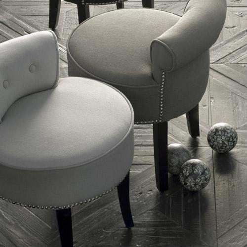 Fauteuil decoclico petit fauteuil crapaud en lin beige - Petit fauteuil design pas cher ...