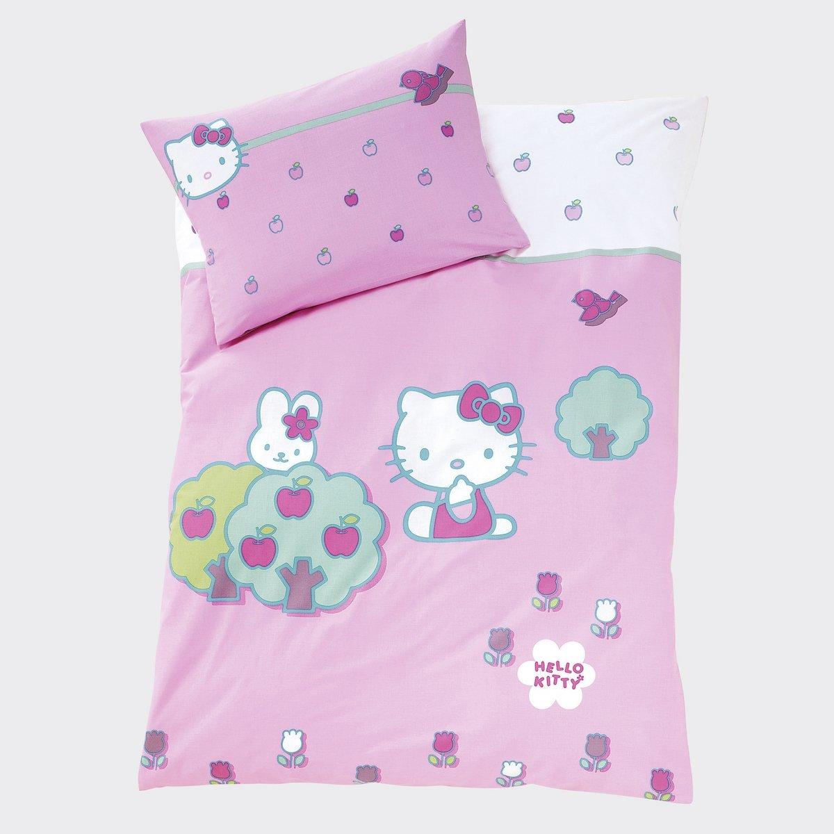 linge de lit la redoute linge de lit hello kitty hello kitty prix 29 99 euros ventes pas. Black Bedroom Furniture Sets. Home Design Ideas