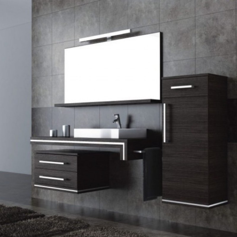 ensemble de salle bain nubia avec vasque droite atylia. Black Bedroom Furniture Sets. Home Design Ideas