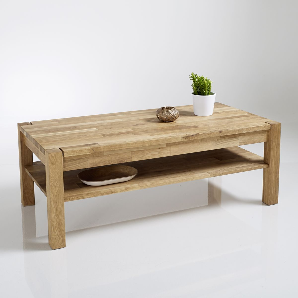 Table basse ch ne huil adelita la redoute interieurs for Table basse scandinave la redoute