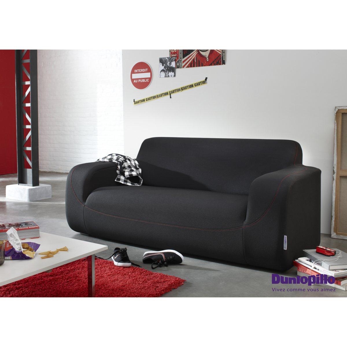 canap droit la redoute curling sofa dunlopillo ventes pas. Black Bedroom Furniture Sets. Home Design Ideas
