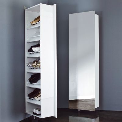 meuble de rangement chaussures miroir. Black Bedroom Furniture Sets. Home Design Ideas