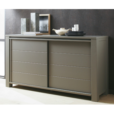 buffet 3 suisses buffet 2 portes coulissantes baltic ventes pas. Black Bedroom Furniture Sets. Home Design Ideas
