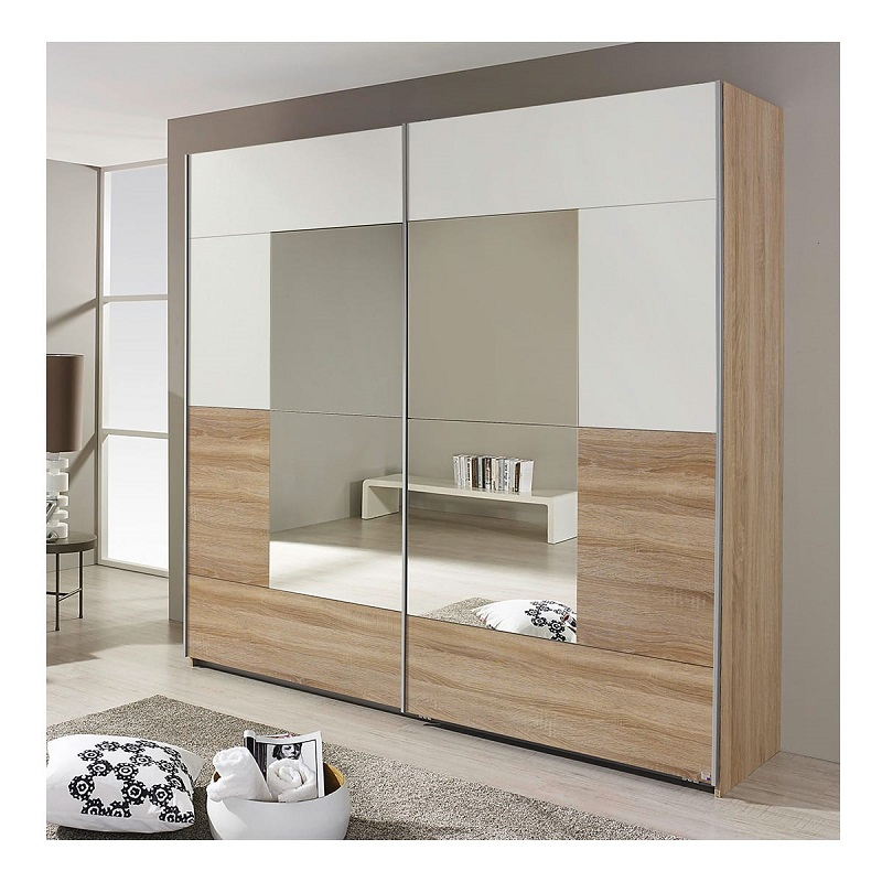 armoire 2 portes coulissantes diva pas cher armoire auchan ventes pas. Black Bedroom Furniture Sets. Home Design Ideas