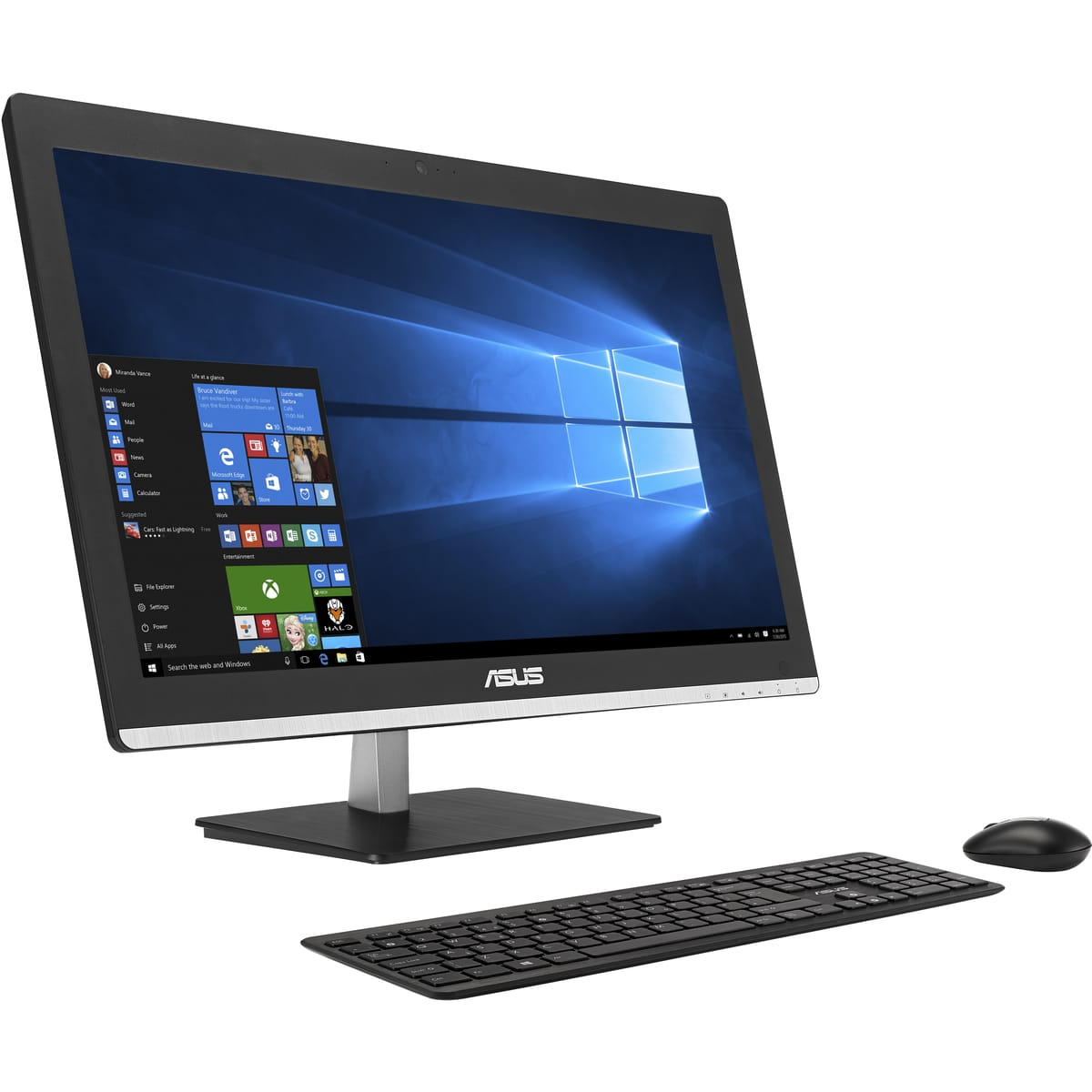 Asus Ordinateur All In One V220iagk Ba001x Pas Cher