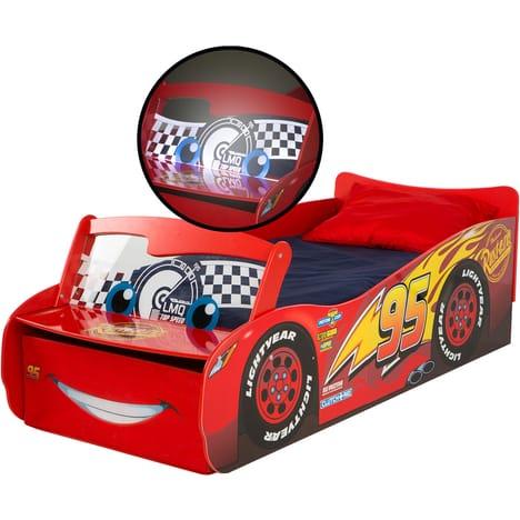 Lit Enfant Couchage 70x140 Cm Disney Cars Lumineux Cars Lit Enfant Auchan Ventes Pas Cher Com