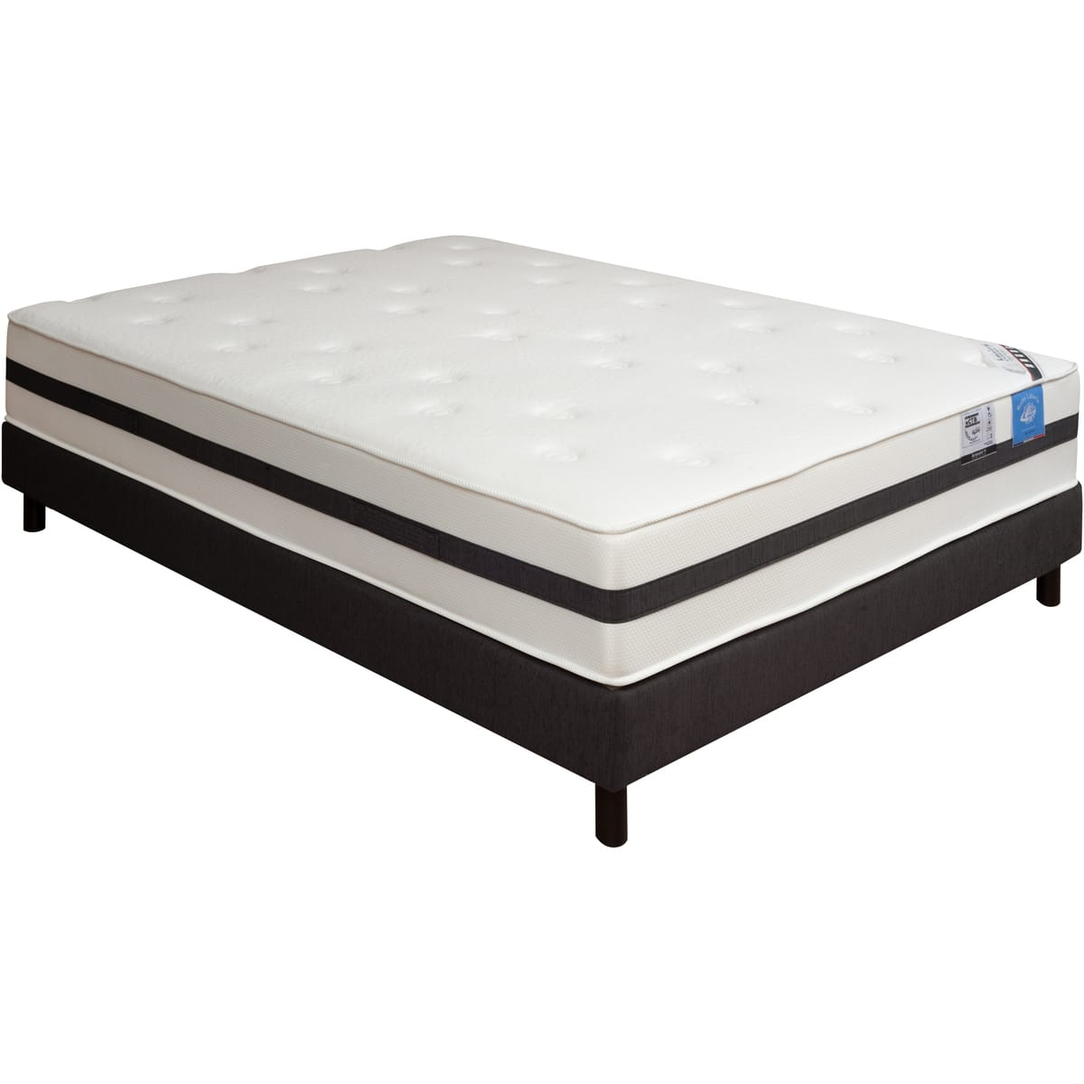 matelas mousse hr andalou 140x190cm belle literie benoist matelas auchan ventes pas. Black Bedroom Furniture Sets. Home Design Ideas