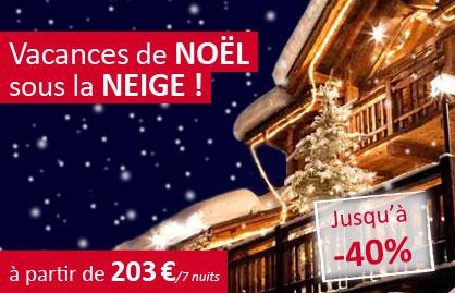 Le Ski du Nord au Sud Vacances de Noel au Ski pas Cher à partir de 203.00 €