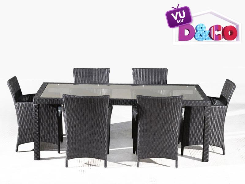 Table de jardin usine deco achat ensemble table et for Usine deco jardin