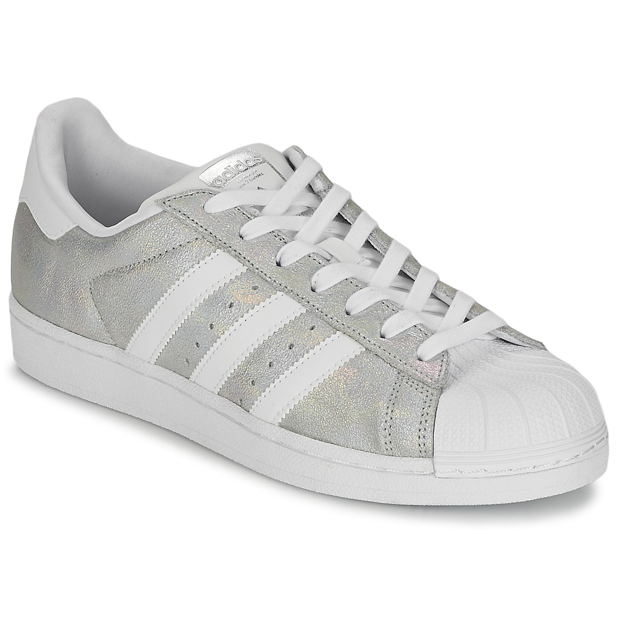 baskets basses adidas originals superstar w argent baskets femme spartoo ventes pas. Black Bedroom Furniture Sets. Home Design Ideas