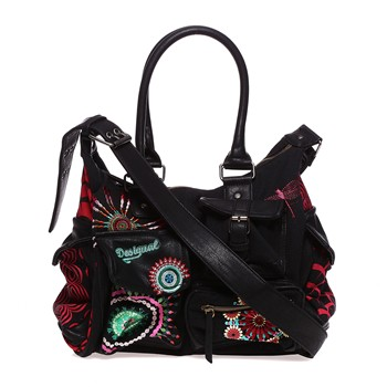 London Medium Tsukiflo Sac à main noir - Sac à Main Desigual Brandalley ee6da67e656