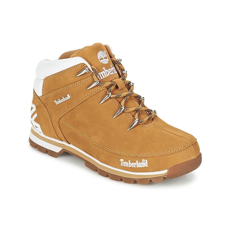 Timberland EURO SPRINT HIKER Blé Nubuck - Boots Homme Spartoo