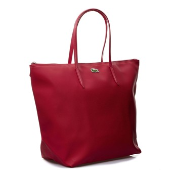 NF1076PO Sac rose indien Lacoste - Sac à main Brandalley