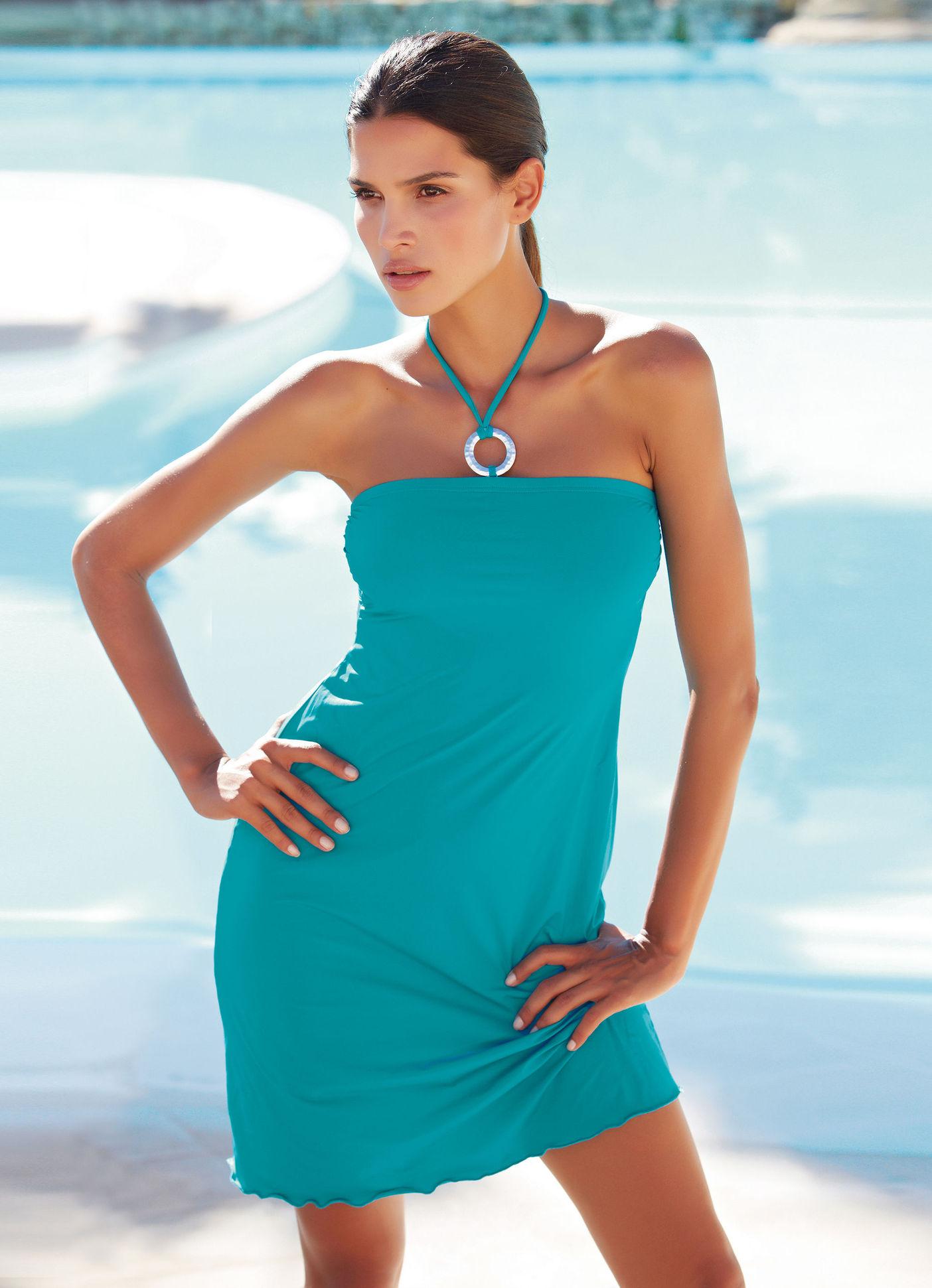 robe el gance paris robe de plage turquoise ventes pas. Black Bedroom Furniture Sets. Home Design Ideas