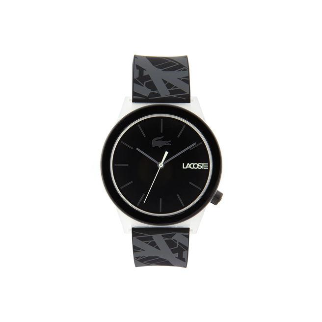Montre Motion Homme Lacoste avec Bracelet en Silicone Noir