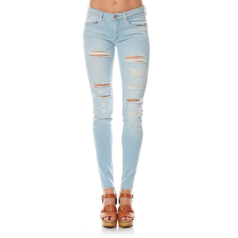 Le Temps des Cerises Power3 Jean skinny bleu - Jeans Femme Brandalley