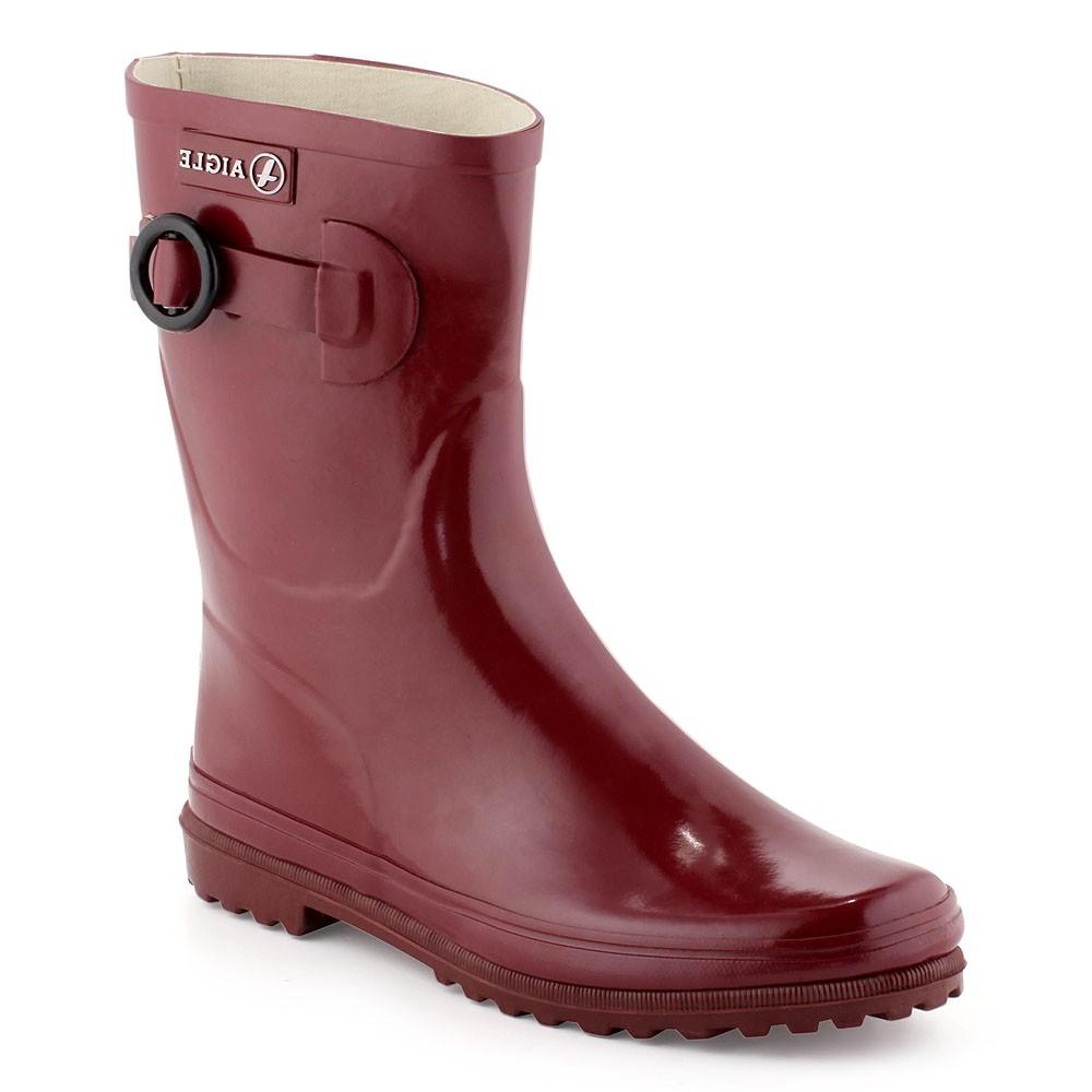 bottes la halle aux chaussures bottes de pluie jardin aigle rouges pour femme ventes pas. Black Bedroom Furniture Sets. Home Design Ideas