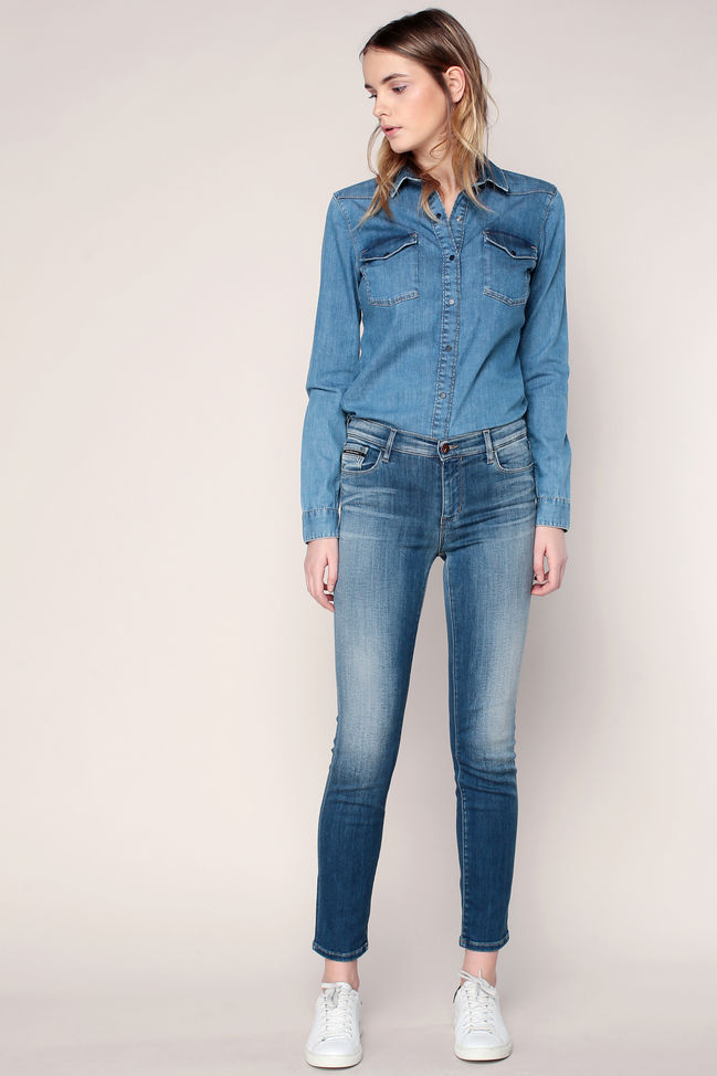 Jean slim stretch blue revival Infinate Shape Calvin Klein