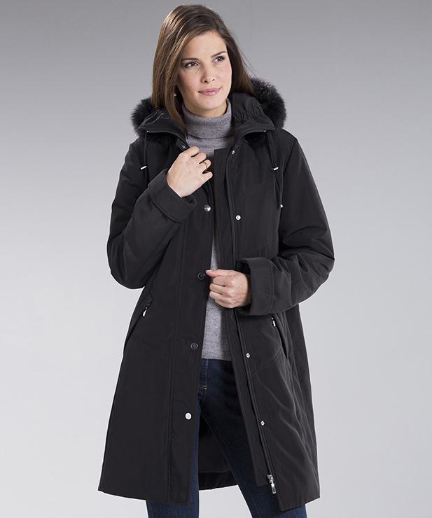 manteau cadeau damart