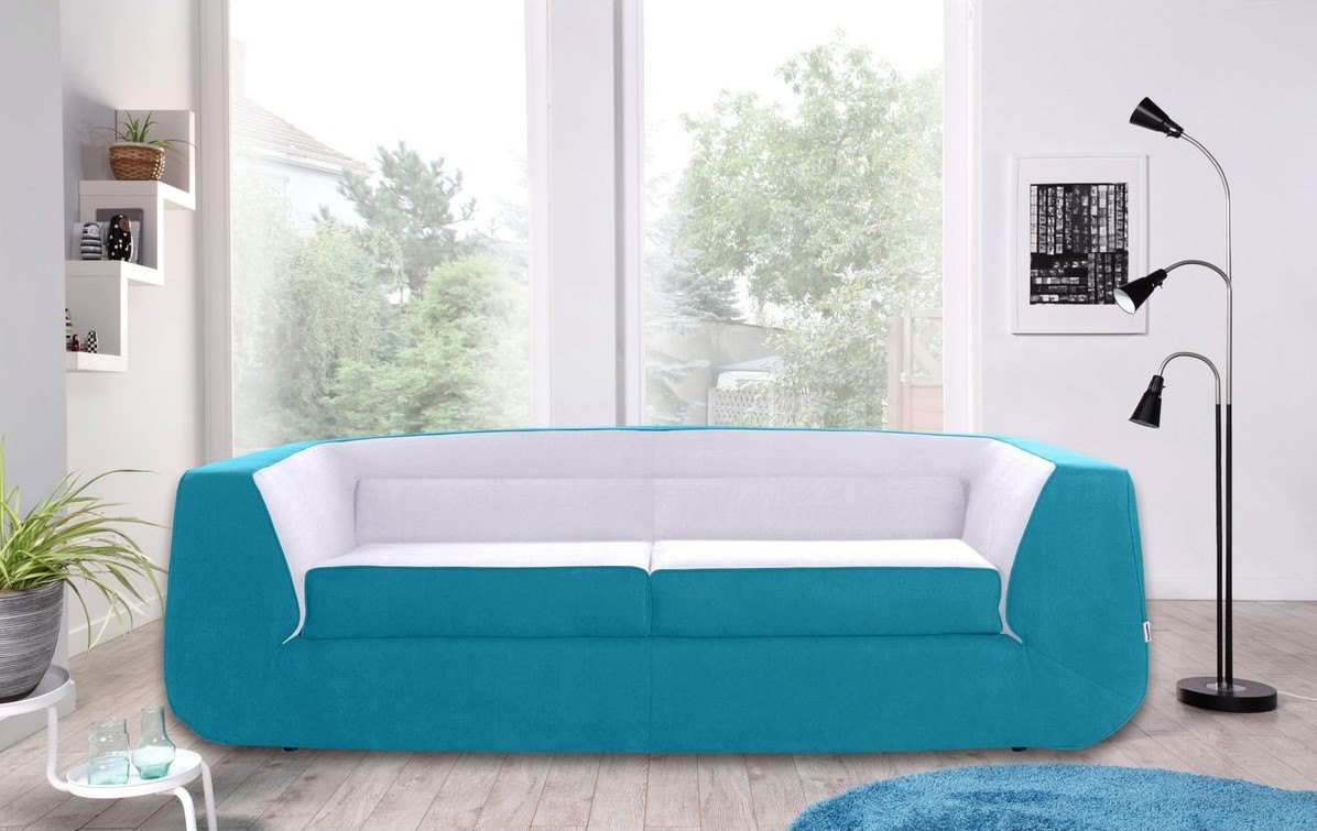 Bump Convertible Sofa XL Dunlopillo