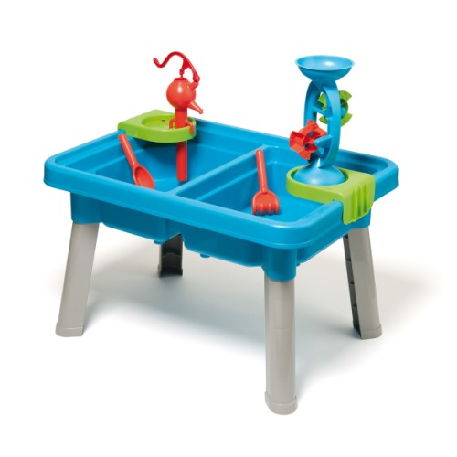 Table sable et eau Explorbul création Oxybul