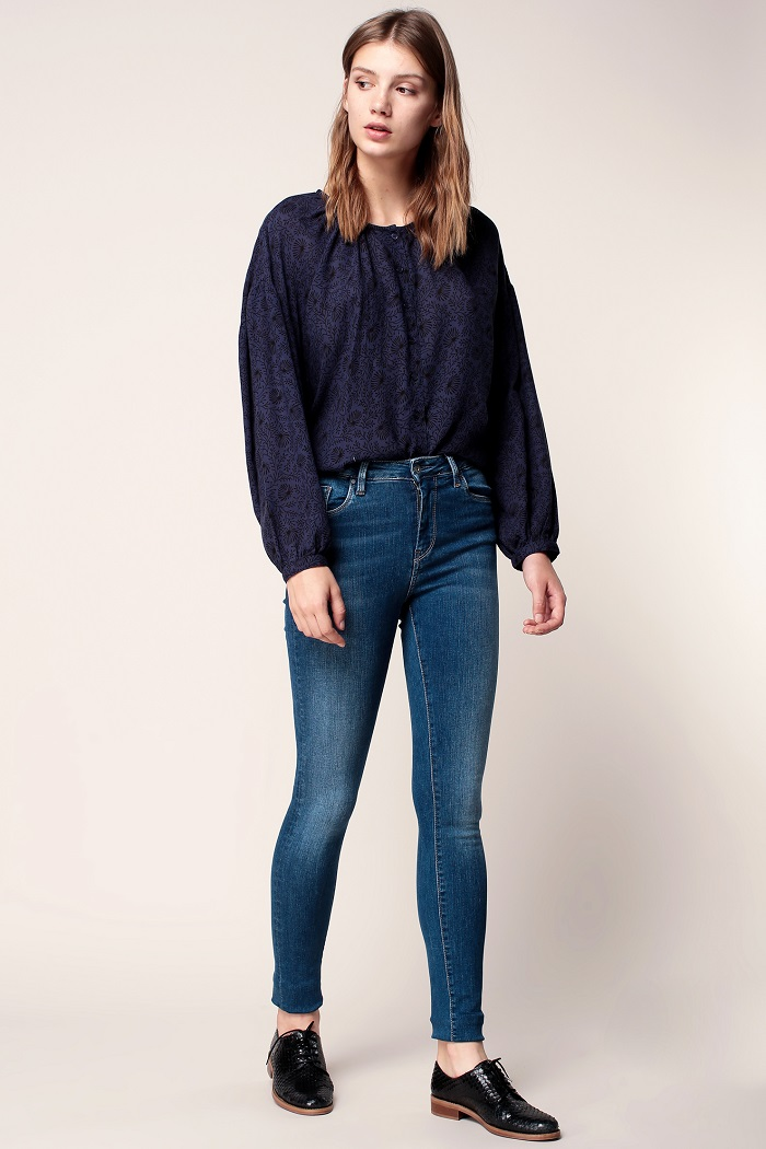 Pepe Jeans Regent Power Flex Jean skinny bleu denim - Monshowroom