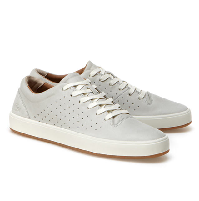 Sneakers basses Tamora Lace Up en cuir Lacoste, Sneakers Femme Lacoste