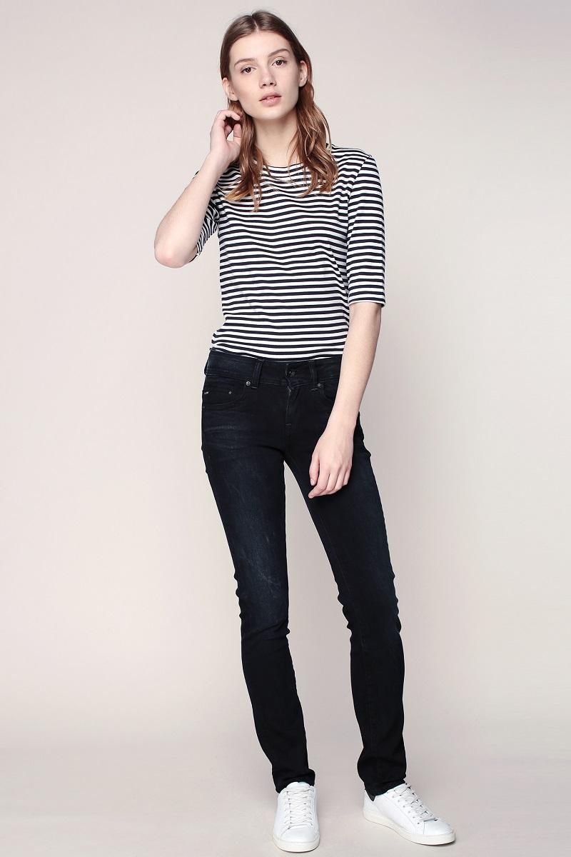 g star jean straight dk aged midge saddle jeans femme monshowroom ventes pas. Black Bedroom Furniture Sets. Home Design Ideas