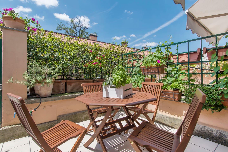 Loft avec terrasse au coeur de Rome en Italie