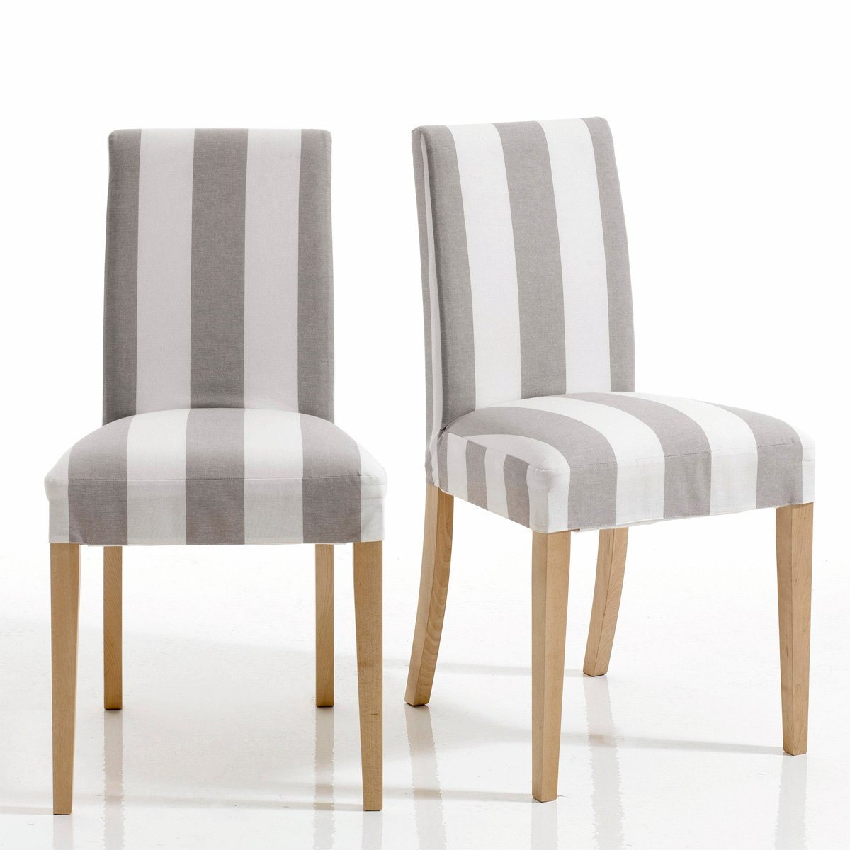 Chaise d houssable inqaluit lot de 2 chaises la - Maison du monde housse de chaise ...