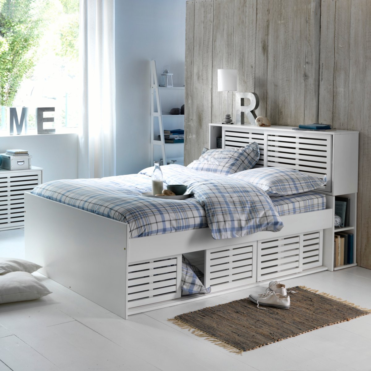 lit la redoute lit pin massif 2 personnes inqaluit. Black Bedroom Furniture Sets. Home Design Ideas