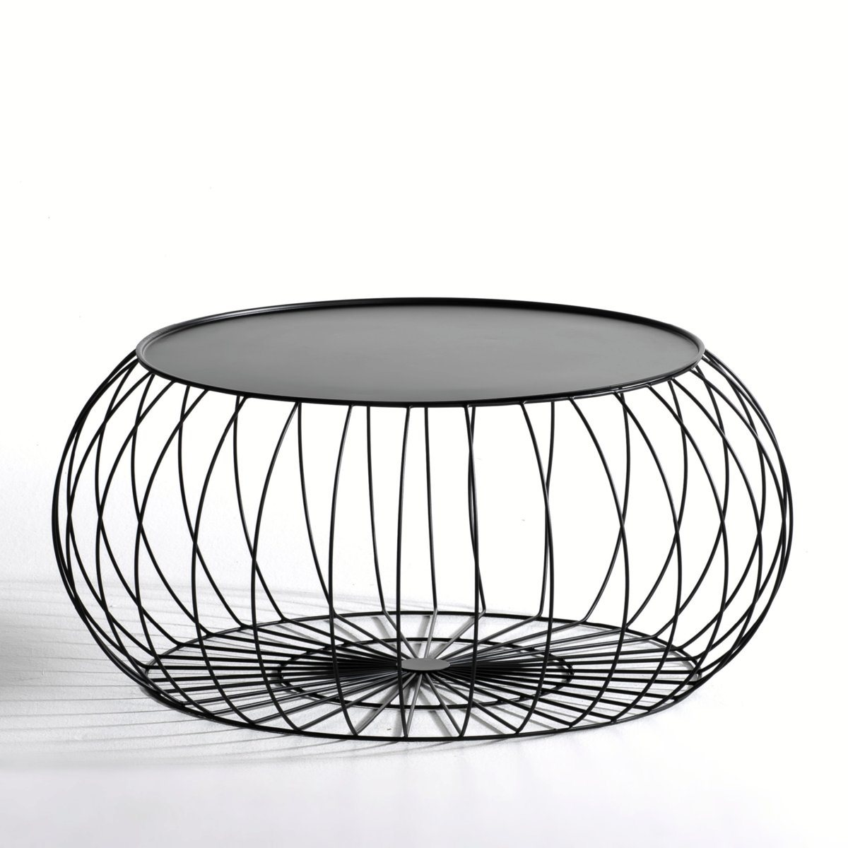 table basse am pm table basse cage fil m tal am pm prix. Black Bedroom Furniture Sets. Home Design Ideas