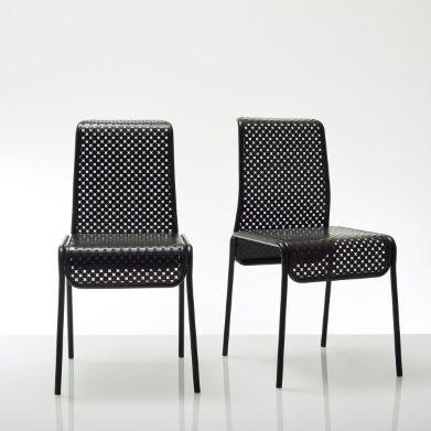 chaise design m tal perfor antoine ph louzat bensimon chaises la redoute ventes pas. Black Bedroom Furniture Sets. Home Design Ideas