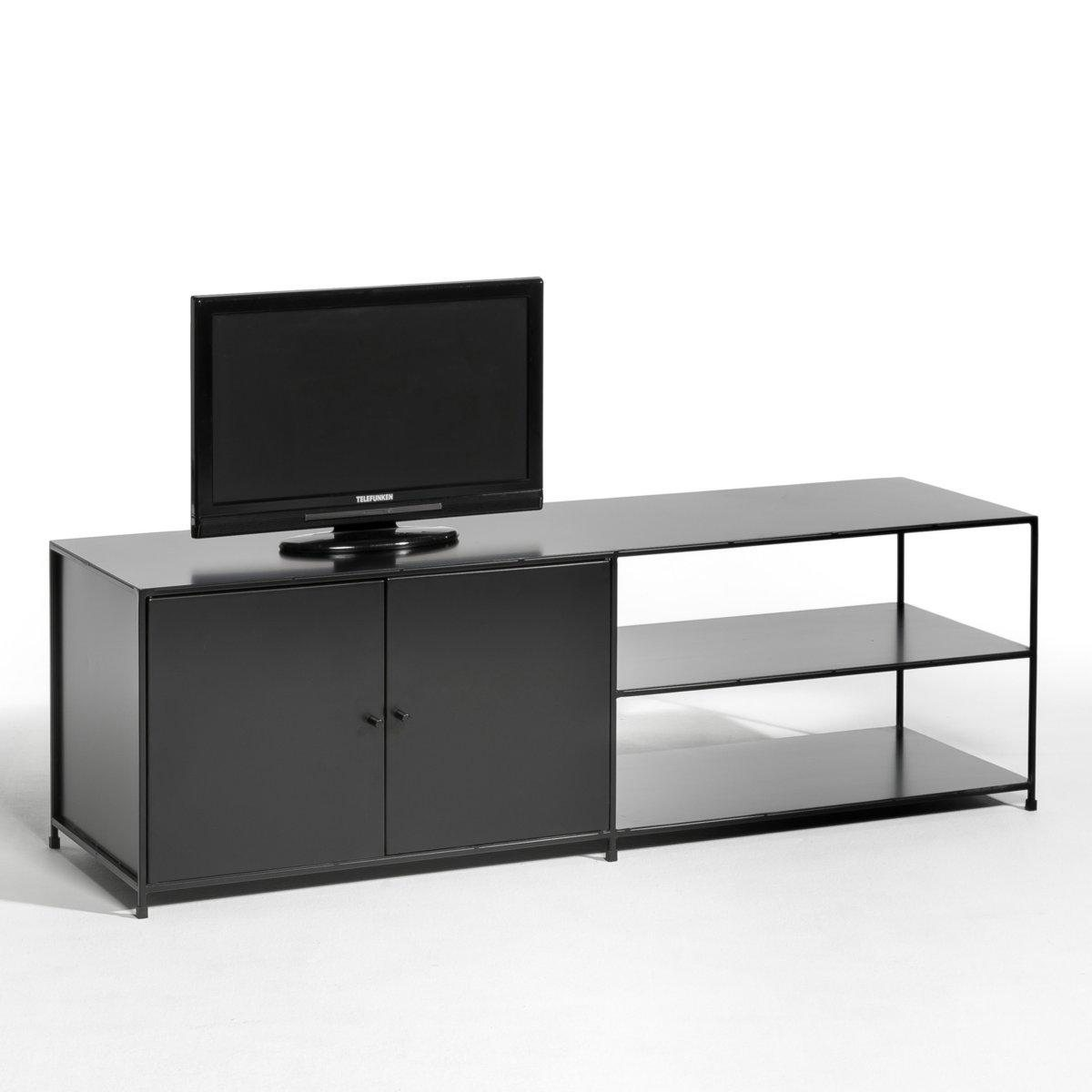 meuble tv m tal romy meuble tv am pm la redoute ventes pas. Black Bedroom Furniture Sets. Home Design Ideas