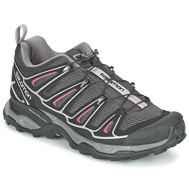 Salomon X ULTRA 2 W Gris / Noir / Rose