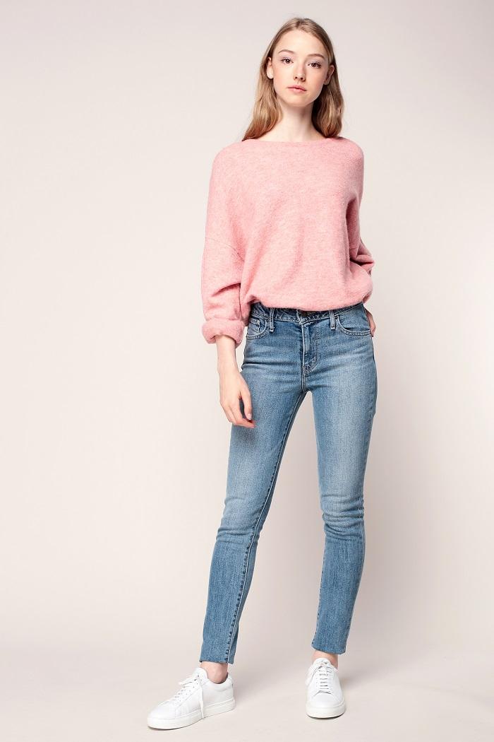 levi 39 s jean 721 skinny soft vintage jeans femme. Black Bedroom Furniture Sets. Home Design Ideas