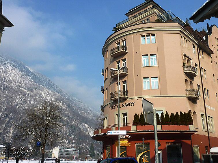 location suisse interhome interlaken appartement residenz savoy ventes pas. Black Bedroom Furniture Sets. Home Design Ideas