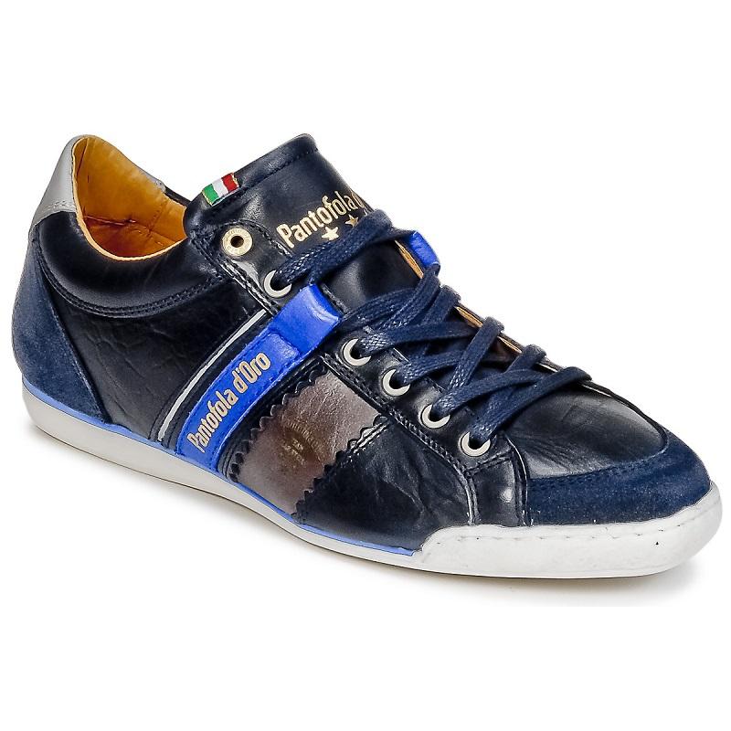 Pantofola d'Oro PESARO PICENO LOW Bleu, Baskets Homme Spartoo