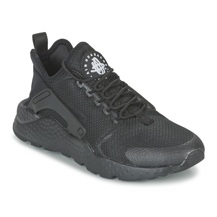 Nike AIR HUARACHE RUN ULTRA W Noir pas cher, Baskets Femme Spartoo