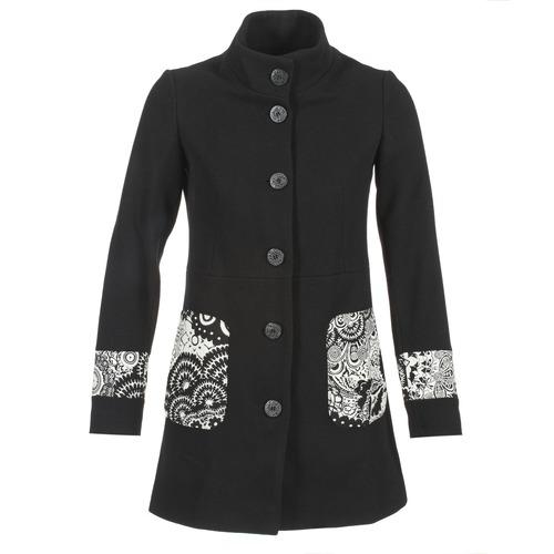 Desigual CALIADE Noir - Manteau Femme Desigual Spartoo