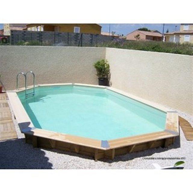 Piscine bois karibu ocean x 6 10 x m piscine for Promo piscine bois