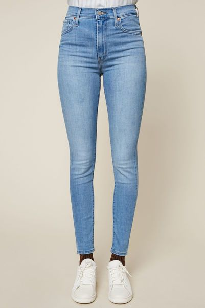 Levi's Jean Mile High Super Skinny bleu clair