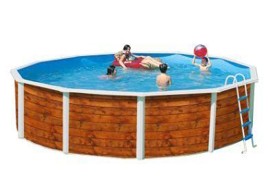 Piscine la redoute piscine ronde etnica acier aspect bois ventes pas for Piscine la redoute