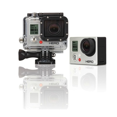 cam ra sports extr mes hd gopro hero3 white edition 2014 3 suisses ventes pas. Black Bedroom Furniture Sets. Home Design Ideas