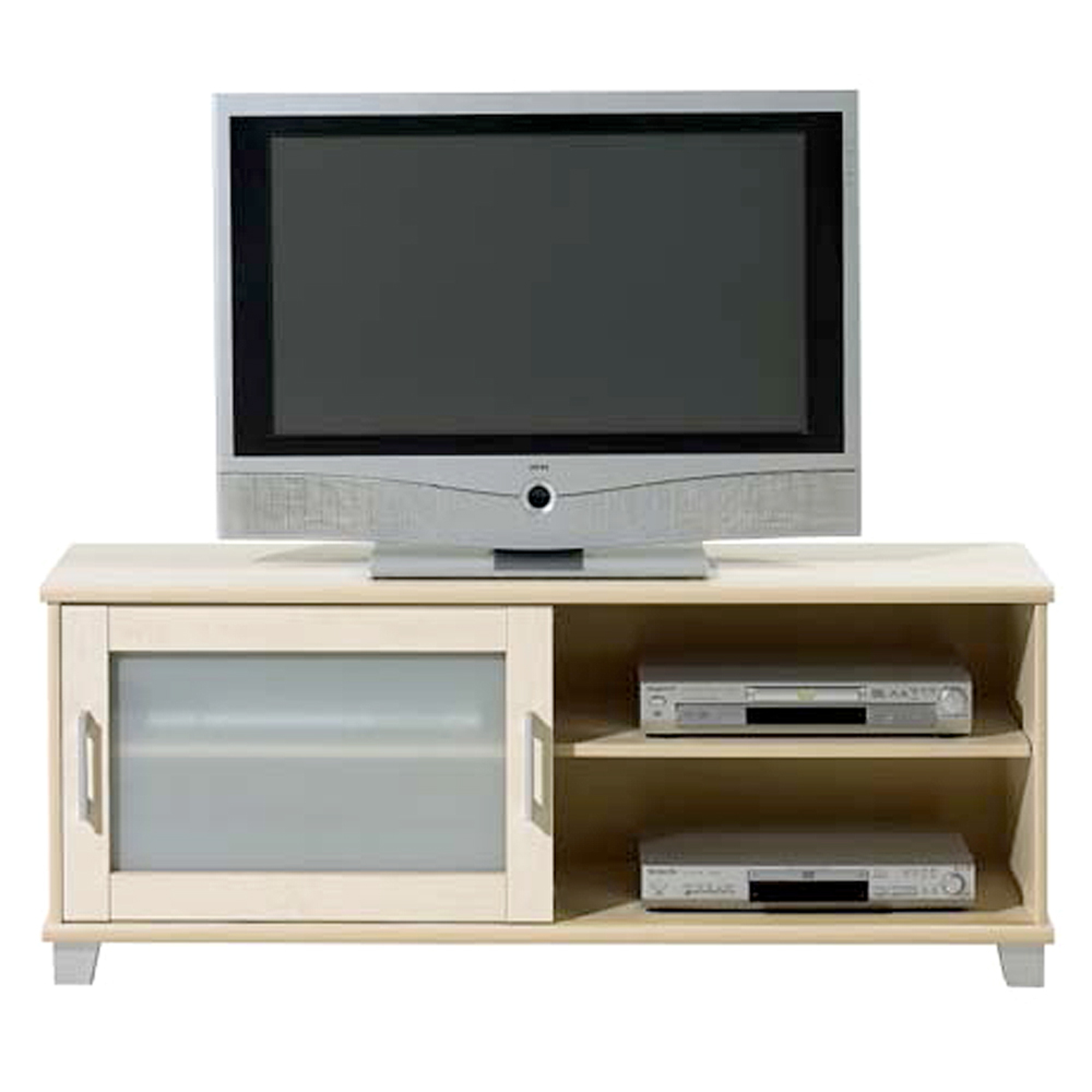 meuble tv en solde meuble tv 2 portes 2 niches en bois. Black Bedroom Furniture Sets. Home Design Ideas