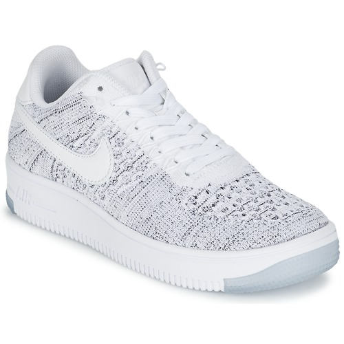 Nike AIR FORCE 1 FLYKNIT LOW W Blanc