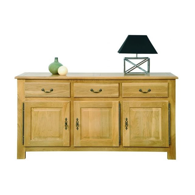 soldes buffet la redoute buffet 3 portes mansart hellin. Black Bedroom Furniture Sets. Home Design Ideas